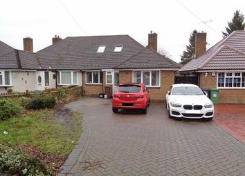 Thumbnail 5 bed semi-detached bungalow for sale in Melton Avenue, Solihull, West Midlands
