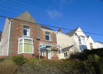 Thumbnail 3 bed detached house for sale in Swansea Road, Swansea