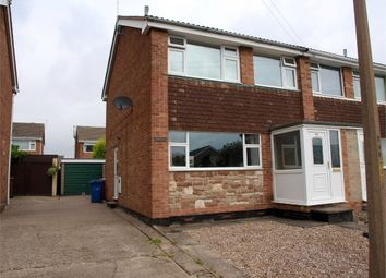 Thumbnail 3 bed semi-detached house to rent in Fairham Road, Stretton, Burton-On-Trent, Staffordshire