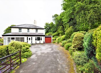 Thumbnail 4 bed detached house for sale in Wrexham Road, Caergwrle