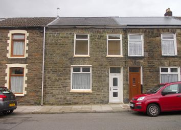 Thumbnail 3 bedroom terraced house for sale in Margaret Street, Treherbert, Treorchy, Rhondda, Cynon, Taff.