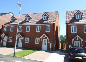 Thumbnail 3 bedroom end terrace house to rent in Oval View, Scholars Rise, Middlesbrough