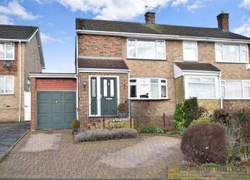 Thumbnail 3 bed semi-detached house for sale in Lonsdale Drive, Rainham, Gillingham, Kent