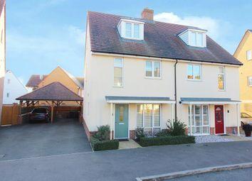 Thumbnail 3 bed town house for sale in Sir Henry Brackenbury Road, Ashford, Kent
