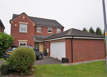 Thumbnail 4 bed detached house for sale in Dam Wood Close, Chorley