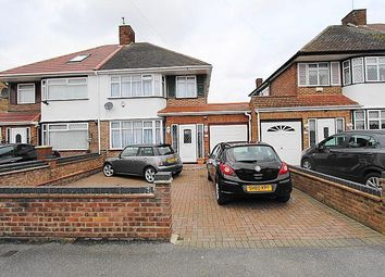 Thumbnail 3 bed semi-detached house for sale in Chatsworth Road, Hayes, Middlesex