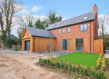 Thumbnail 4 bed detached house for sale in Culcheth Hall Drive, Culcheth, Warrington
