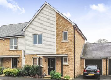 Thumbnail 3 bed semi-detached house for sale in Redwood Drive, Epsom
