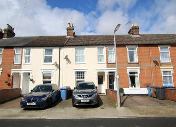Thumbnail 2 bed terraced house to rent in Henslow Road, Ipswich