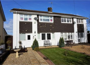Thumbnail 4 bedroom semi-detached house for sale in Orchard Close, Caldicot
