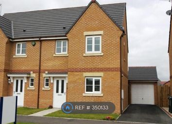 Thumbnail 3 bed semi-detached house to rent in Earlsmeadow, Newcastle Upon Tyne