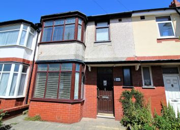 Thumbnail 3 bedroom terraced house for sale in Norcliffe Road, Blackpool