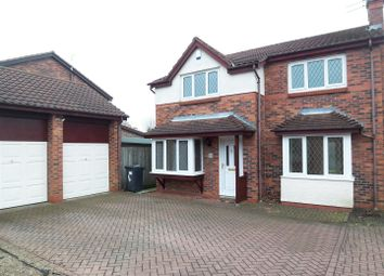 Thumbnail 4 bed detached house for sale in West Farm Court, Broompark, Durham