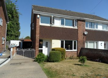 Thumbnail 3 bed semi-detached house for sale in Lutterworth Drive, Adwick Le Street