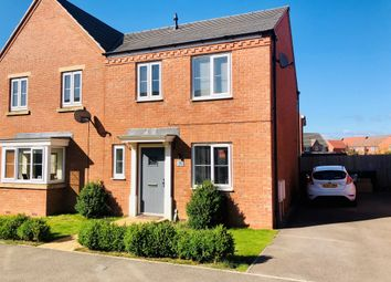 Thumbnail 3 bedroom semi-detached house for sale in Freshman Way, Market Harborough