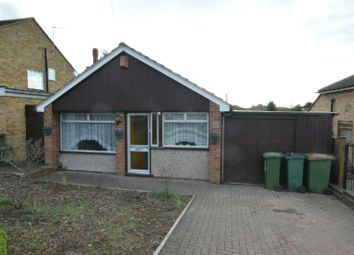 Thumbnail 2 bedroom detached bungalow for sale in Woodcote Road, Braunstone, Leicester