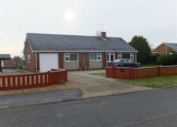 Thumbnail 3 bed bungalow to rent in Spridlington Road, Faldingworth, Market Rasen