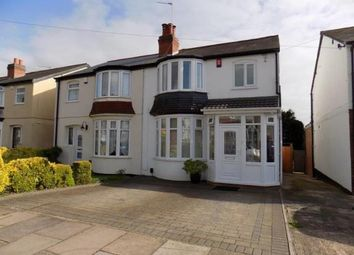 Thumbnail 3 bed semi-detached house for sale in Stanley Avenue, Harborne, Birmingham, West Midlands
