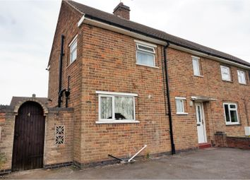 Thumbnail 2 bed semi-detached house for sale in Garendon Road, Coalville