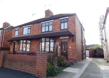 Thumbnail 3 bed semi-detached house for sale in Burn Road, Scunthorpe