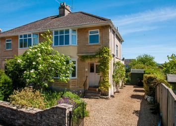 Thumbnail 3 bedroom semi-detached house for sale in West Lea Road, Bath
