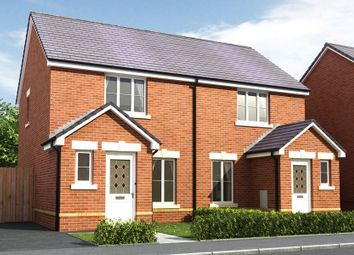 Thumbnail 2 bed semi-detached house for sale in The Chelsea. Cae Sant Barrwg, Pandy Road, Bedwas