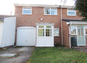 Thumbnail 2 bed town house for sale in Wakami Crescent, Chellaston, Derby