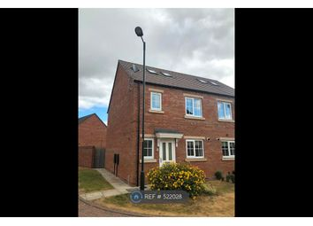 Thumbnail 3 bedroom semi-detached house to rent in Chatsworth Close, Laceby, Grimsby