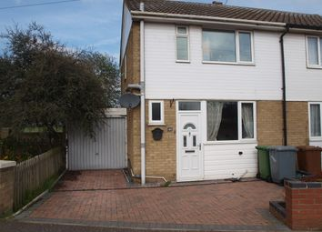 Thumbnail 3 bed semi-detached house to rent in Meadow Way, Norwich