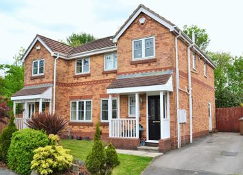 Thumbnail 3 bed semi-detached house for sale in Chendre Close, Swinton, Manchester