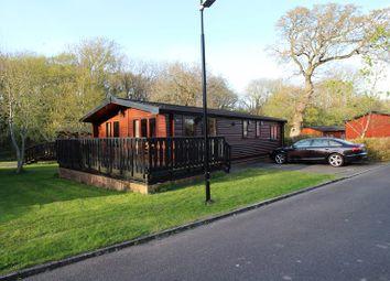 Thumbnail 3 bedroom lodge for sale in Dane Park Shorefield Road, Downton, Lymington