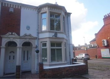 Thumbnail 4 bed end terrace house for sale in St. James Park Road, Northampton