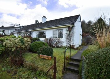 Thumbnail 1 bed semi-detached bungalow for sale in 9 Cnoc A'Challtuinn, Clachan Seil, Oban