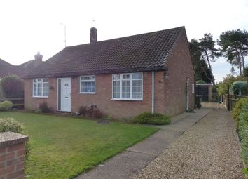 Thumbnail Detached bungalow for sale in Westwood Drive, Lincoln