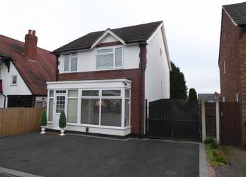 Thumbnail 3 bed detached house for sale in Aubrey Road, Harborne, Birmingham