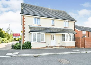 Thumbnail Detached house for sale in Charlesby Drive, Watchfield, Swindon