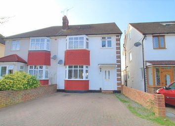 Thumbnail 4 bed semi-detached house for sale in Gadesden Road, West Ewell, Epsom