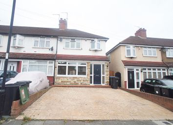Thumbnail 3 bedroom semi-detached house for sale in Goodwood Avenue, Enfield