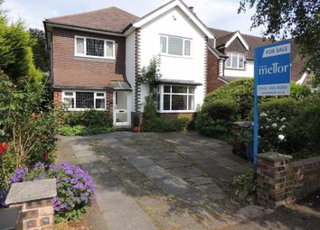 Thumbnail 4 bed detached house for sale in Sandringham Road, Hazel Grove, Stockport