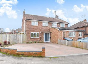 Thumbnail 3 bed semi-detached house for sale in Lower Clabdens, Ware, Hertfordshire