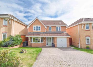 Thumbnail 4 bed detached house for sale in Langdon Close, Consett