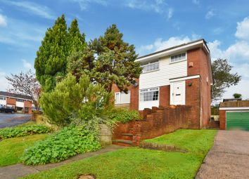 Thumbnail 3 bed semi-detached house for sale in Sidford Close, Bolton