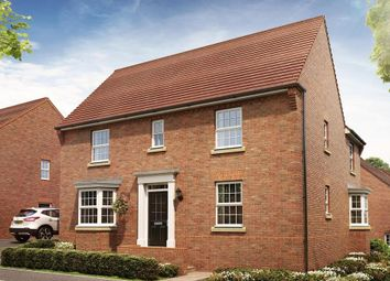 "Thumbnail 4 bed detached house for sale in ""Cadleigh"" at Pyle Hill, Newbury"