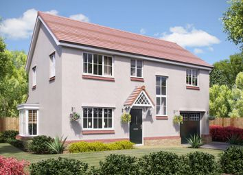 Thumbnail 4 bedroom detached house for sale in Silkin Park, Hinkshay Road, Telford