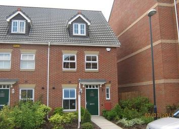 Thumbnail 3 bed town house to rent in Atlantic Way, Derby
