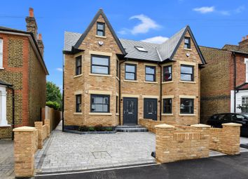 Thumbnail 4 bedroom semi-detached house for sale in Thornhill Road, Tolworth, Surbiton