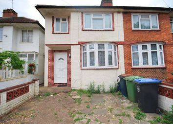 Thumbnail 3 bed end terrace house to rent in Hazel Grove, Wembley, Middlesex