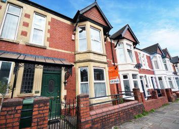 Thumbnail 4 bed terraced house for sale in Cosmeston Street, Cathays, Cardiff