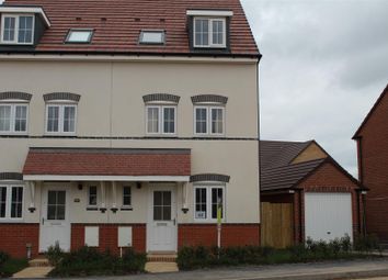 Thumbnail 3 bed town house to rent in Squinter Pip Way, Bowbrook, Shrewsbury