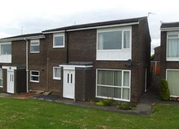Thumbnail 2 bedroom flat for sale in Norburn Park, Witton Gilbert, Durham, Durham